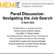 MEMPC Panel Discussion on Navigating the Job Search with Master of Engineering Management alumni from MEMPC programs